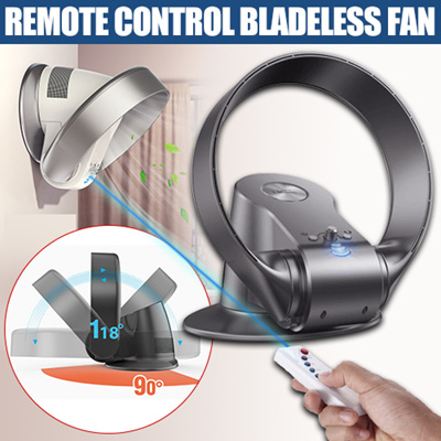Qoo10 ☆sk Bladeless Fan☆wall Fan Remote Control