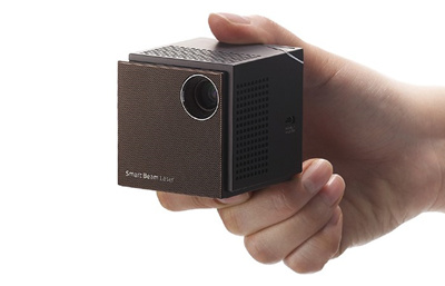 Qoo10 Sk Smart Beam Laser Uo Mini Projector 2 3inch Cube
