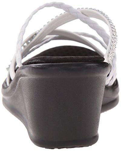 0d5fd4e2c021 Qoo10 - Skechers Cali Womens Rumblers Wild Child Wedge Sandal   Shoes