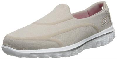 92a21376af Skechers Performance Womens Go Walk 2 Super Sock 2 Slip-On Walking Shoe