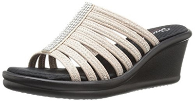 65c85a2ec0dc (Skechers) Skechers Cali Women s Rumblers Hot Shot Wedge Sandal-Rumblers  Hot Shot