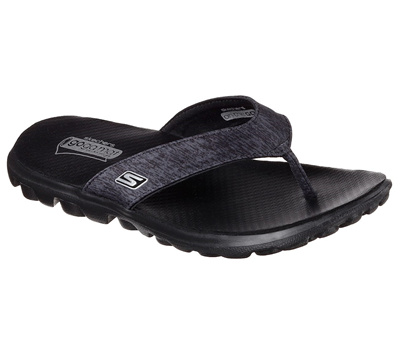 9620a7949f61  SKECHERS  WOMENS SLIPPERS ON THE GO FLOW BBK