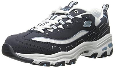 35a0a8853098 Qoo10 - Skechers Sport Womens DLites Memory Foam Lace-up Sneaker ...