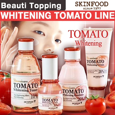 Review of Skin Food Black Sugar Mask and Premium Tomato ...
