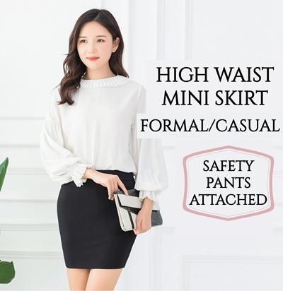 4407fc1dc Skirt Korean Style Formal Skirt Casual Skirt Office Skirt High Waist Skirt  Mini Skirt ♥ SG