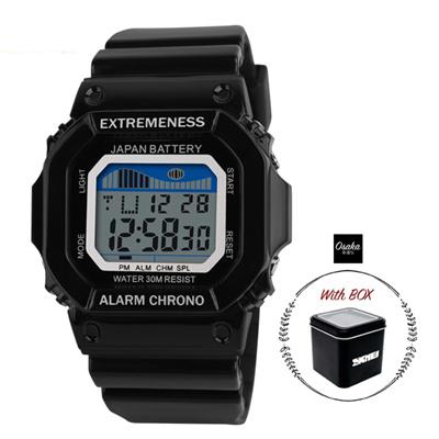 SKMEI Jam Tangan Digital Pria Jam Tangan Digital G-Shock Jam Tangan Pria  Water Resistant c9f36ac130