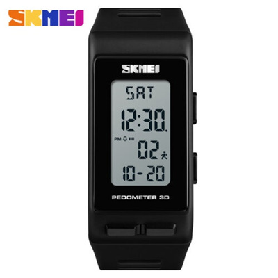 SKMEI Original Jam Tangan Digital Sport Pedometer Kalori 1363 - Black c0bdf19262