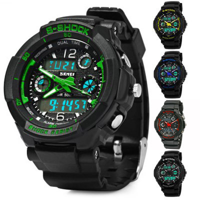 Outdoor Sports Watch Waterproof Shockproof Men Mountaineering Electronic  Watches Watch Jam Tangan d76cd04dca