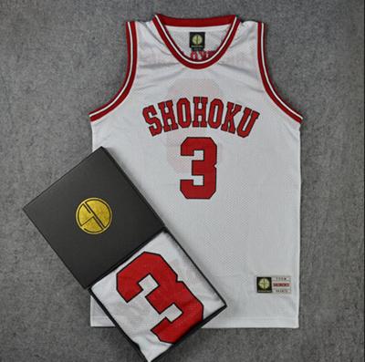 813a588b4 Qoo10 - Slam Dunk SD authentic jersey North of the 3rd Akagi Haruko  basketball...   Sportswear