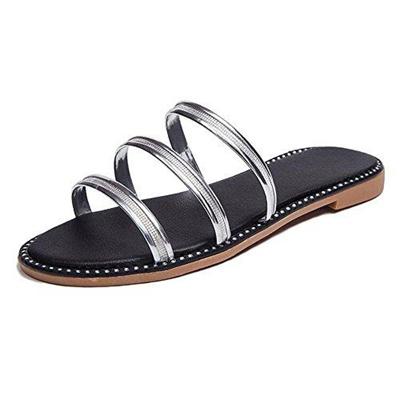 73da41fade7c Qoo10 - (Slduv7) Women s Sandals DIRECT FROM USA Women Slide Sandals Glitter  F...   Shoes
