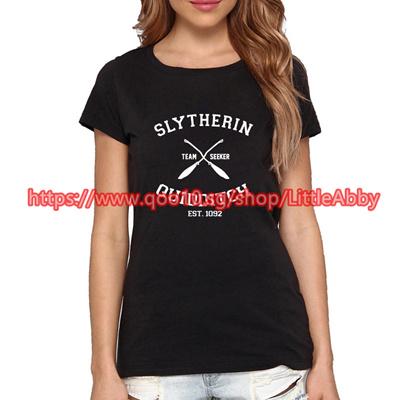 87b0b9837 Qoo10 - Slyhterin Quidditch/Gryffindor Quidditch Women Men Harry Potter T  Shir... : Women's Clothing