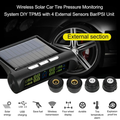 Tire Pressure Monitoring System >> Qoo10 Smart Car Tpms Tyre Pressure Monitoring System Solar Power
