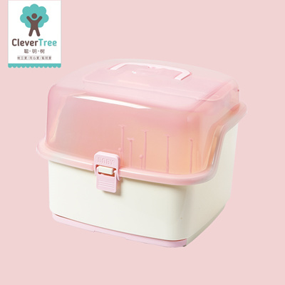 Smart tree baby bottle storage box box of cutlery boxes of milk powder baby bottle drying & Qoo10 - Smart tree baby bottle storage box box of cutlery boxes of ...
