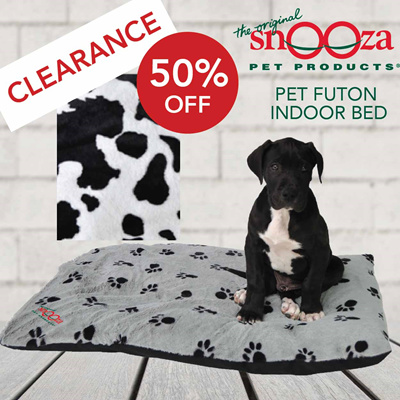 Snooza Cow Pet Futon Bed For Dogs Mighty Size Clearance 50