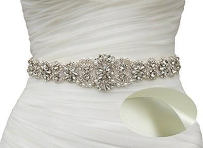 Wedding Dress Belts.Soardream Bridal Sash Wedding Belt Bridal Dress Belt