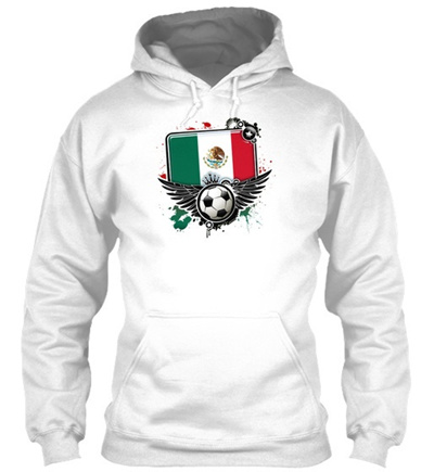 85b8923359ba2 Qoo10 - Soccer Fan Mexico Gildan Hoodie Sweatshirt   Men s Apparel