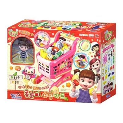 Qoo10 Soccer Toys Shopping Cart 490287 Ca40 Korean Kids Ship