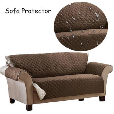 Sofa Slipcover Waterproof Sofa Protector Cover Anti Skid Dirt Proof Suede Pet Dog Cushion Mat