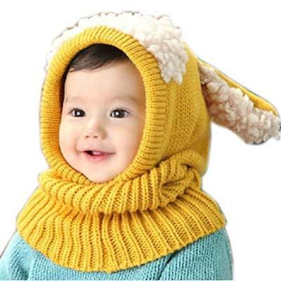 0e3fd50d73ed Qoo10 - Soficy Lovely Winter Baby Kids Girls Boys Warm Woolen Coif ...