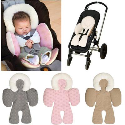 Kids Baby Buggy Seat Liner Pram Pushchair Mat Kid Car Seat Pad Stroller Cushion