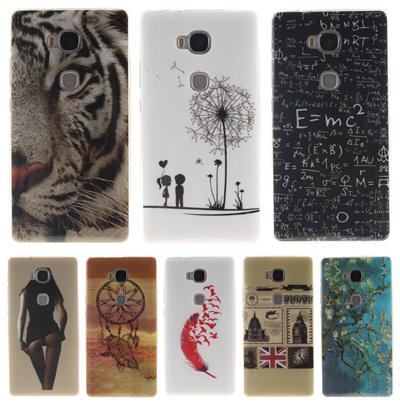 Soft TPU Phone Back Cover Case Huawei GR5 KII-L21 L22 L05 /Honor 5x x5 5 X  KIW-L21 L24 Silicone IMD