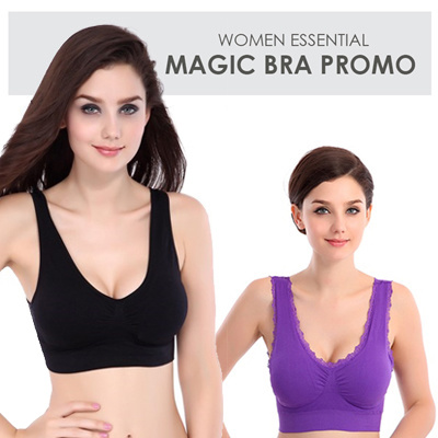 13e7177f17260 FLAT PRICE Magic Bra    Magic Bra Lace  Sports Bra