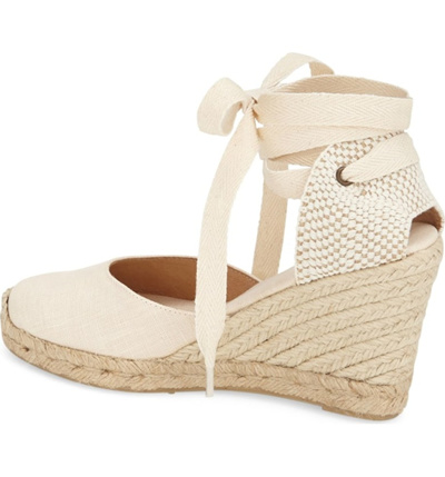 5d4b8bbd476 SOLUDOS Wedge Lace-Up Espadrille Sandal