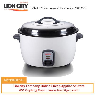 Qoo10 Sona 5 6l Commercial Rice Cooker Src2063 Home