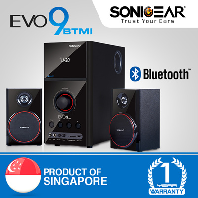 4f8af363ce1015 2.1 BLUETOOTH with FM RADIO Speaker + Wireless Remote Control. and SD Card    Total