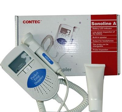 Sonoline A Pocket Fetal Doppler Baby Heart Rate Monitor With Gel