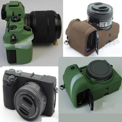 Sony a7R II a7 III a9 ILCE-9 a6500 a5000 a5100 a6300 a6000 RX100 M3 M4 M5  bag cover silicone case
