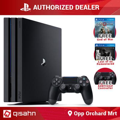 SONYPS4 Playstation 4 Pro Console // 1TB // 2TB // God of War + Last of Us  Bundle