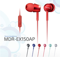 Sony MDR MDR-EX150AP Image