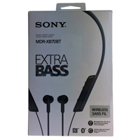 Sony MDR MDR-XB70BT EXTRA BASS Bluetooth In-ear Headphones Image