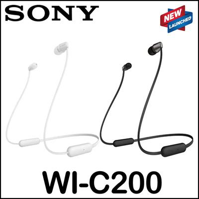 [Sony]Sony WI-C200 Bluetooth Wireless In-Ear Earphones Earphone