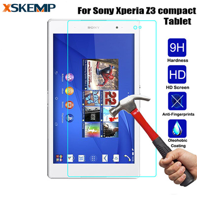 """qoo10 - sony xperia z3 compact tablet 8.0"""" tempered glass screen"""