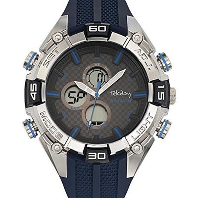 Armbanduhr Blau Digital Quarz 655841 Qoo10soshopTekday Herren odxCBe