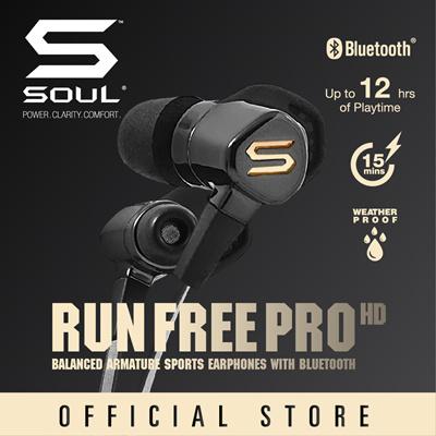 18efc138f9b SOUL Electronics RUN FREE PRO HD Balanced Armature Driver Sport Bluetooth  Earphone Local Warranty