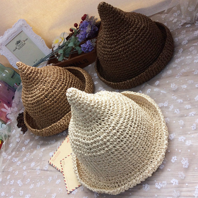 2e837cb640d South Korean women s hats in the summer holiday fisherman s bucket Hat  Beach shade grass