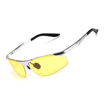 5cfa352526 Soxick HD Night Driving Glasses Polarized Anti-Glare for Day Evening Car  Rides Glasses