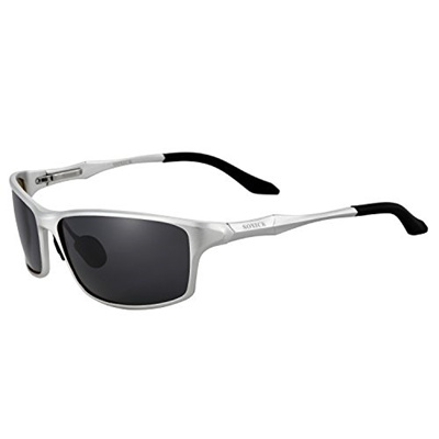 7366cdd73c SOXICK Soxick Mens Polarized Sunglasses UV400 Retro Unbreakable Metal  Driving Sunglasses