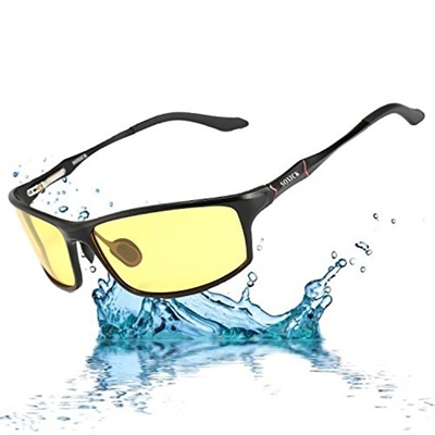 6f127d285b SOXICK Soxick Night Driving Glasses Polarized Anti glare Rain Day Safe Night  Vision Glasses