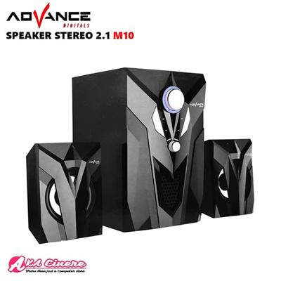 Speaker Aktif Advance M10 USB Subwoofer Bass Portable