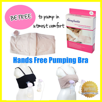 330934f07c5dd ☆Special Offer ☆ Honeysuckle Autumnz Hands Free Pumping Bra Bandeau ♡ Hands  Free Breastpump Bra