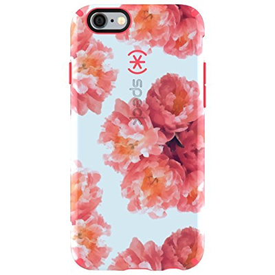 buy online 33326 6257a Speck Products CandyShell Inked Case for iPhone 6/6S - Retail Packaging -  Tissue Floral Peach/Splash