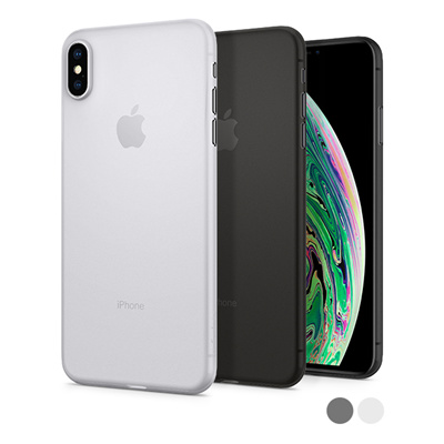 new arrival 831c8 f42d1 [ SPIGEN]Spigen Air Skin Designed for Apple iPhone XS MAX Case Unbeatable  thinness maintains the feel
