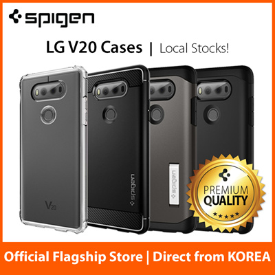 new concept 6a955 acb27 SPIGENLG V20 Case LG V10 Casing by Spigen Case Screen Protector 100%  Authentic Free Fast Local Delivery