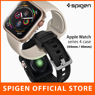 separation shoes 4c6b2 13a75 SPIGENSpigen Apple Watch Series 4 Case Casing Cover Apple Watch Strap  Screen Protector