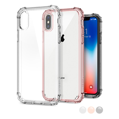 huge discount 6f24b 78b3c SPIGENSpigen Crystal Shell iPhone X/XS Case with Clear back panel and  Reinforced Corners on TPU bumper
