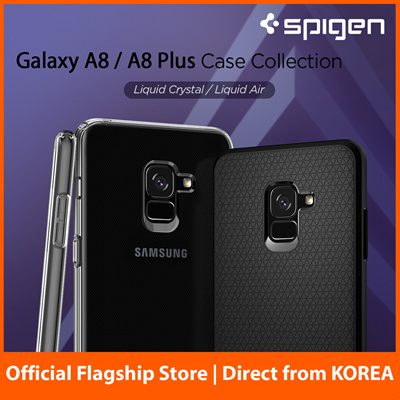 new arrive f3b84 a9e06 SPIGENSpigen Galaxy A8 / A8+ (2018) Case by Spigen Casing Samsung Cover  100% Authentic Fast Delivery